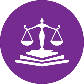 Achieve Justice For All color icon